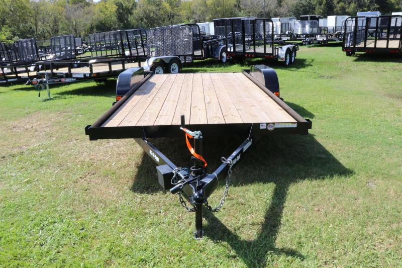 7X16 Red Hot Utility Trailer
