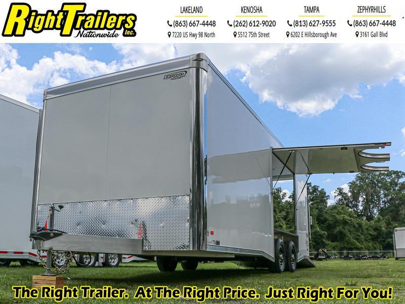 8.5X24 Bravo Enclosed Cargo Trailer
