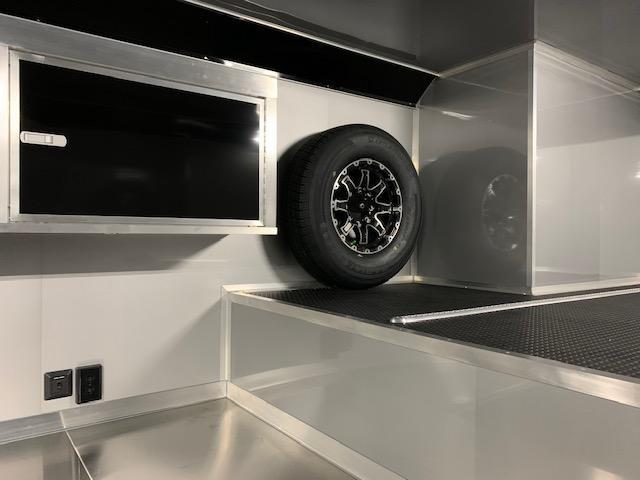 8.5x40 Bravo Enclosed Trailer I Car / Racing Trailer