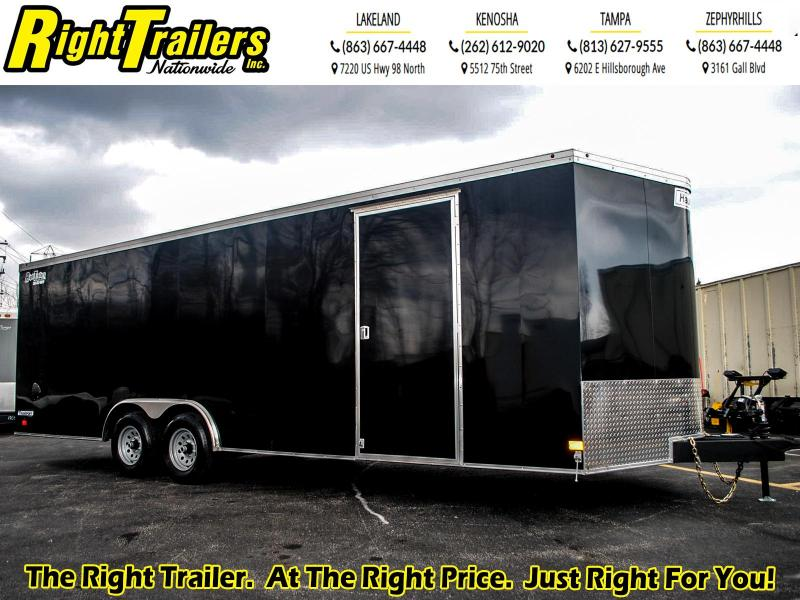 8.5x24 Haulmark I Enclosed Cargo Trailer
