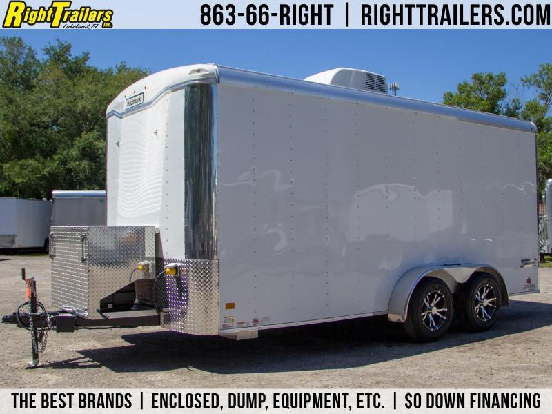 CUSTOM: 7x16 Haulmark Transport | Enclosed Trailer
