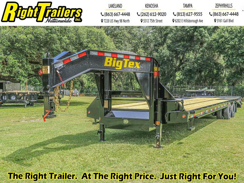 8.5X35 (30+5) Big Tex Equipment Trailer
