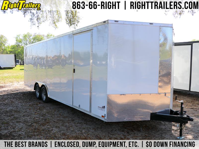 8.5X24 Anvil | Enclosed Cargo Trailer