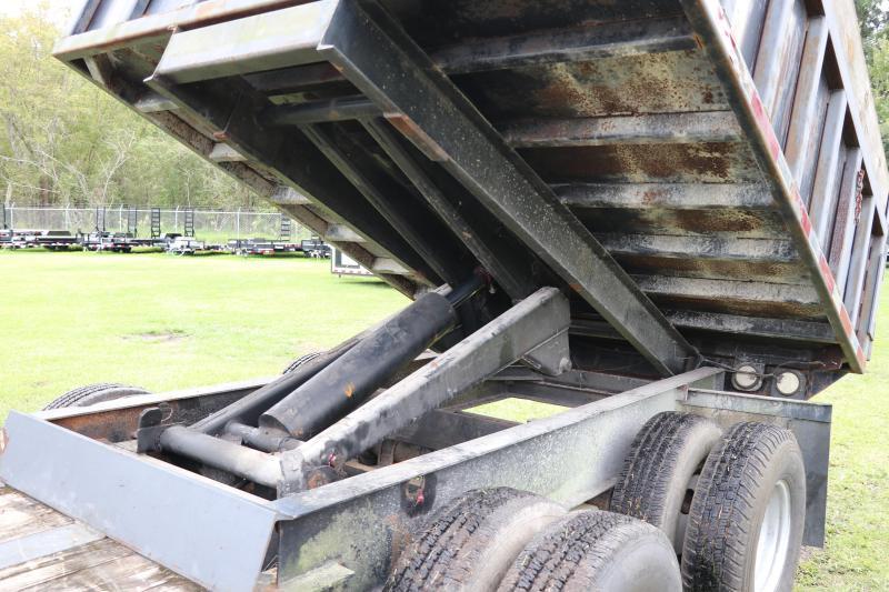 8x26 Hardeebilt Trailers | Flatbed/Dump Trailer