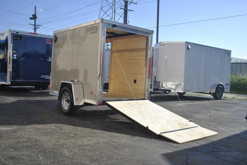 5X8 RC Trailers I Enclosed Cargo Trailer