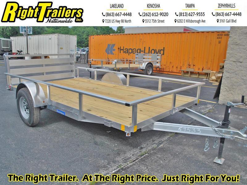 2021 RC Trailers ART OU 6.5 x 12 SA Utility Trailer