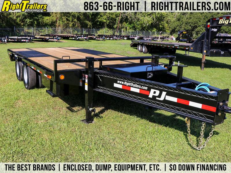 8.5x16 PJ Trailers I Equipment Trailer