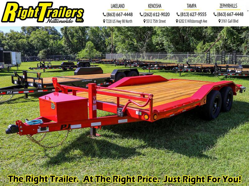 8.5X16 PJ Trailers 5 in. Channel Buggy Hauler (B5) Car / Racing Trailer