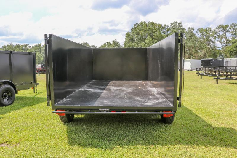 6X12X4 Red Hot I  Dump Trailer