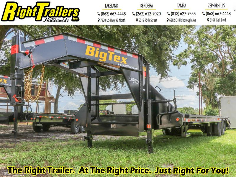 22GN-28+5 Big Tex Trailers I Equipment Trailer