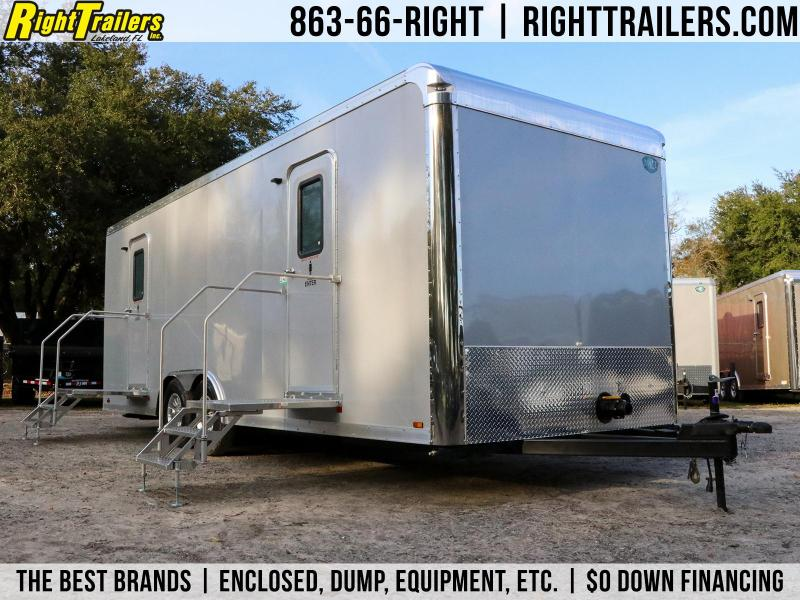 10 Station Restroom Trailer (Rental) | Restroom Trailer