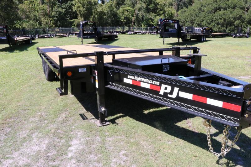 8.5x20 PJ Trailers   Equipment Trailer