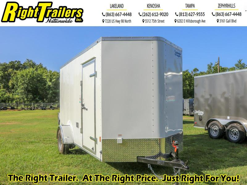 6X12 CONCESSION Continental Cargo I Enclosed Cargo Trailer