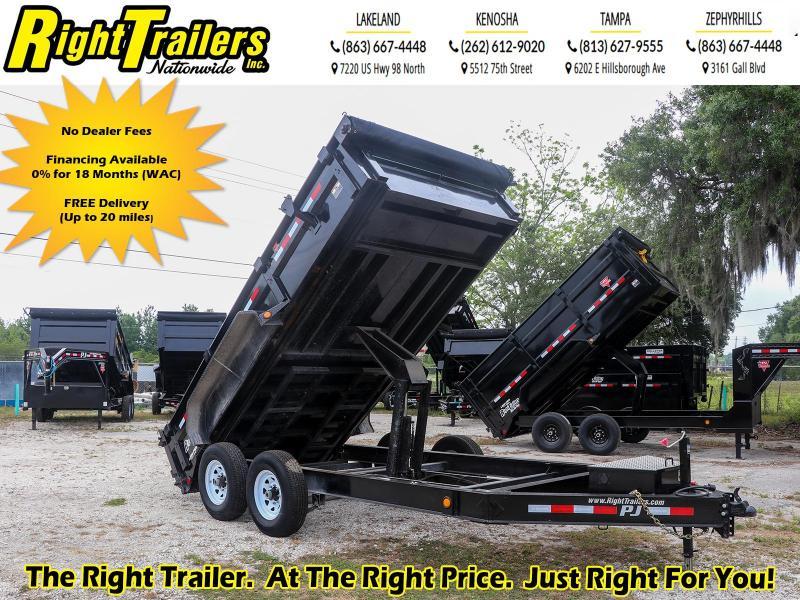 7x14 PJ Dump Trailer | Dump Trailer