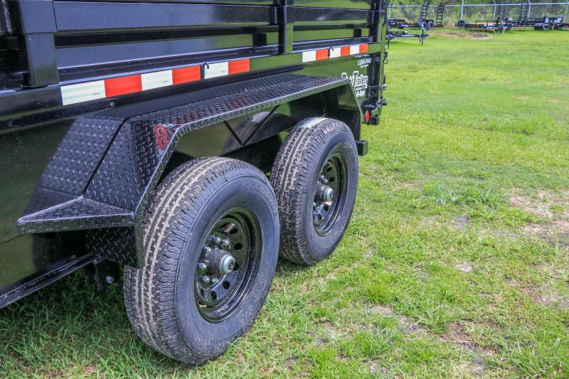 7x14x4 PJ Trailers 83 in. Low Pro Dump (DL) Dump Trailer