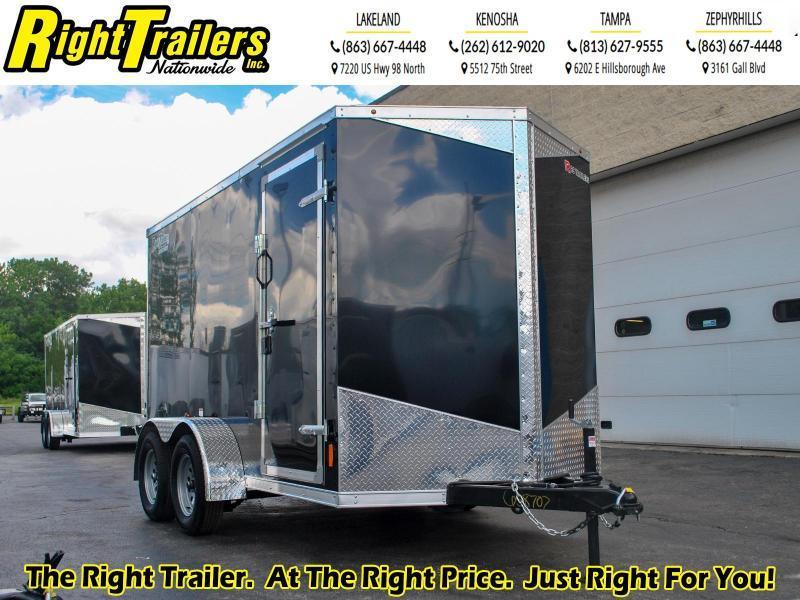 *58707* 6 x 12 RC Trailers I 7K Tandem Axle Enclosed Cargo Trailer
