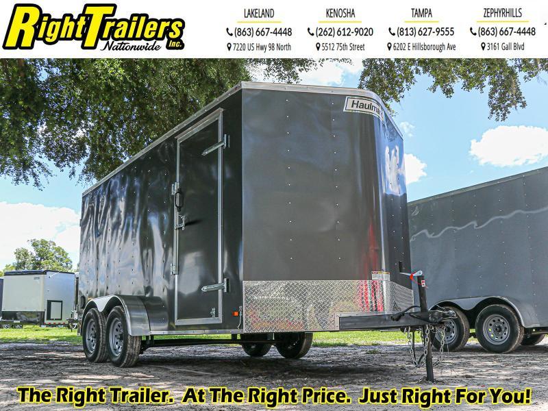 7x14 Haulmark Enclosed Cargo Trailer