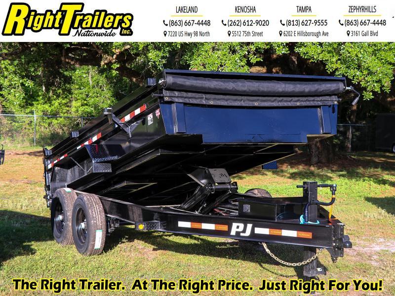 7x14 PJ Trailers I Dump Trailer