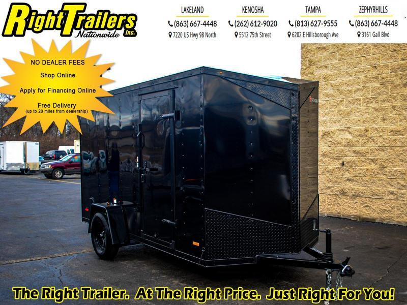 6X12 RC Trailers RDLX Enclosed Cargo Trailer