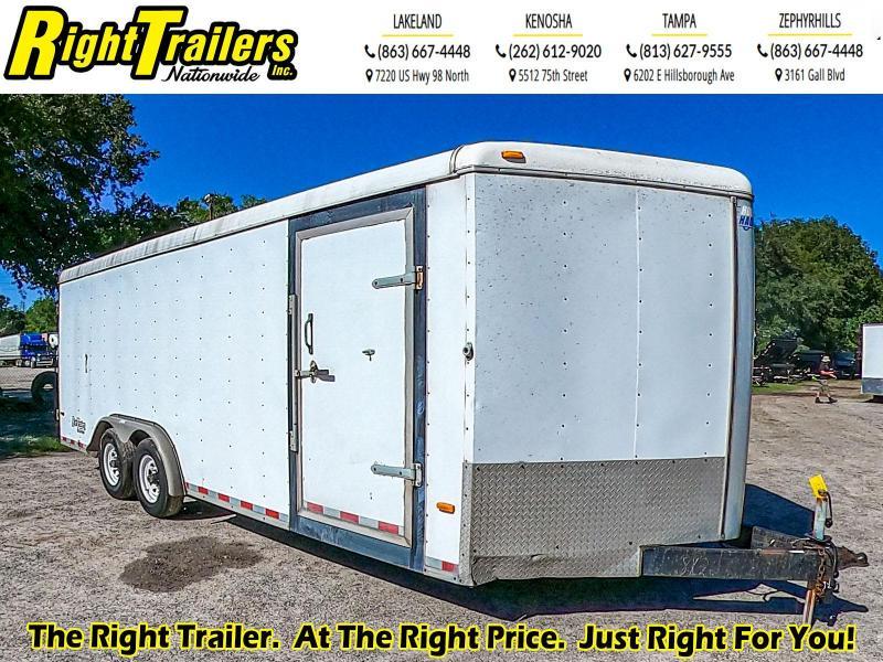 USED- 8.5 x 20 Horton Hauler  Enclosed Cargo Trailer