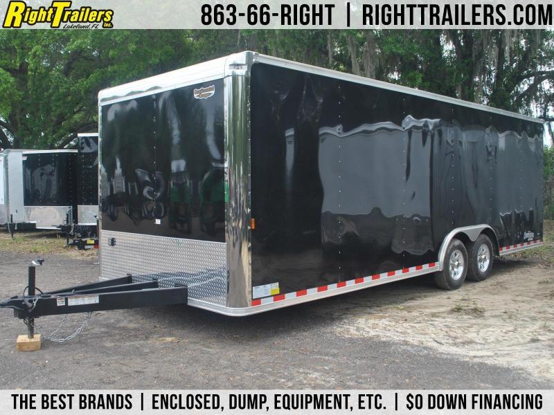 8.5x24 Continental Cargo | Race Car Trailer [Black]