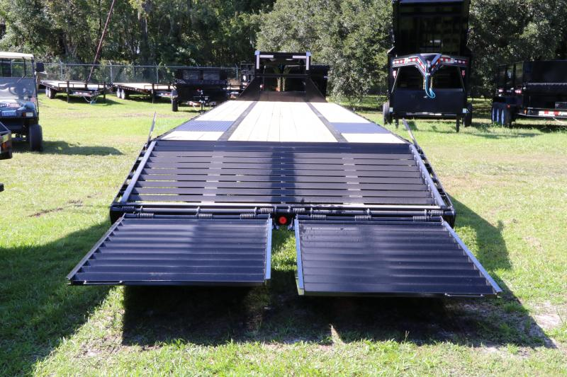 8.5X40  PJ Trailers Low-Pro Flatdeck with Duals I Flatbed Trailer