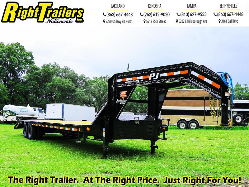 8.5X32 PJ Trailer Low-Pro Flatdeck with Duals (LD) Flatbed Trailer