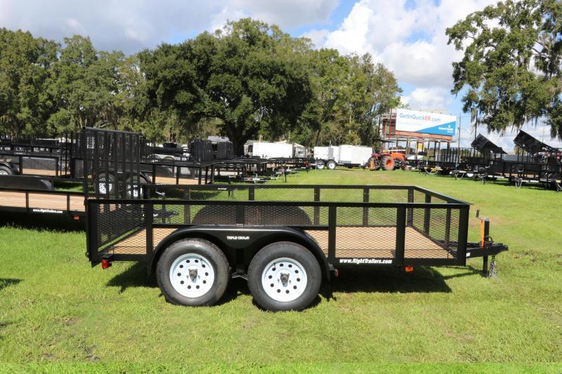 6X12X2 Red Hot Utility Trailer