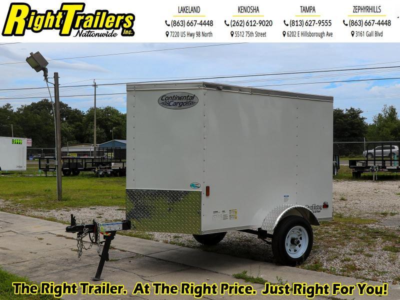 4X6 Continental Cargo I Enclosed Cargo Trailer