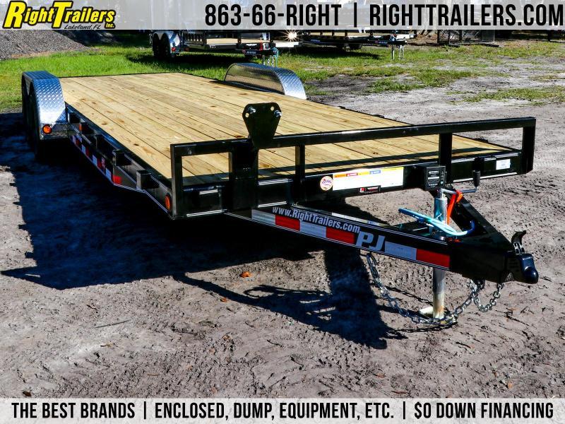 7x22 PJ Trailers | Equipment Trailer