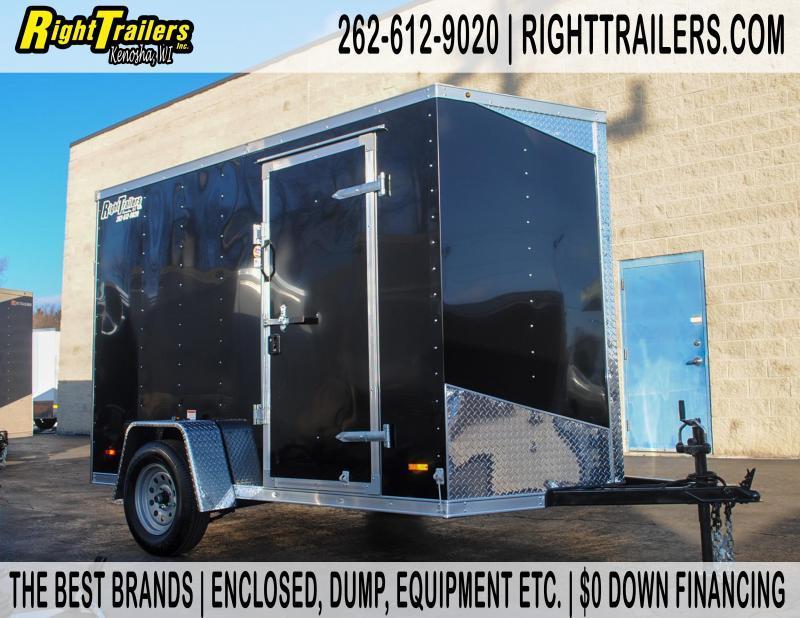 6X10 RC Enclosed Cargo Trailer