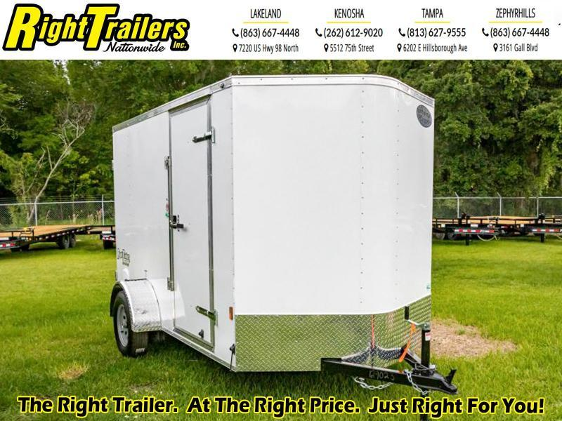 6x10 Continental Cargo i Enclosed Cargo Trailer