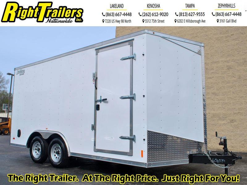 8.5X16 RC Trailer I Tandem Axle Enclosed Cargo Trailer
