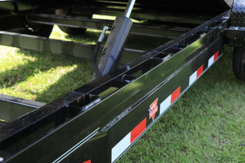 7X20 PJ Trailers Powered Full Tilt (TF) Equipment Trailer