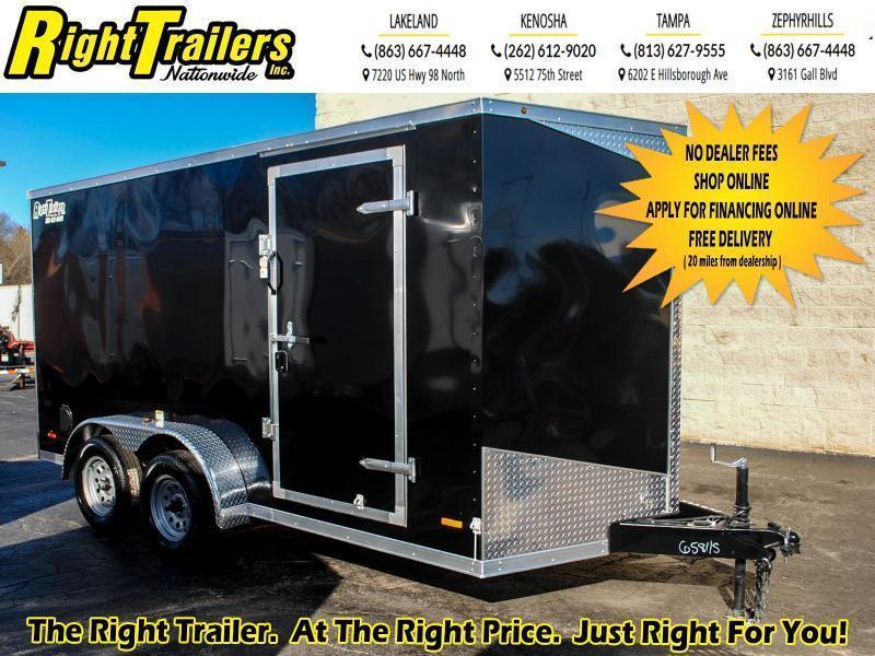 7X14 RC Trailers I Tandem Axle Enclosed Cargo Trailer