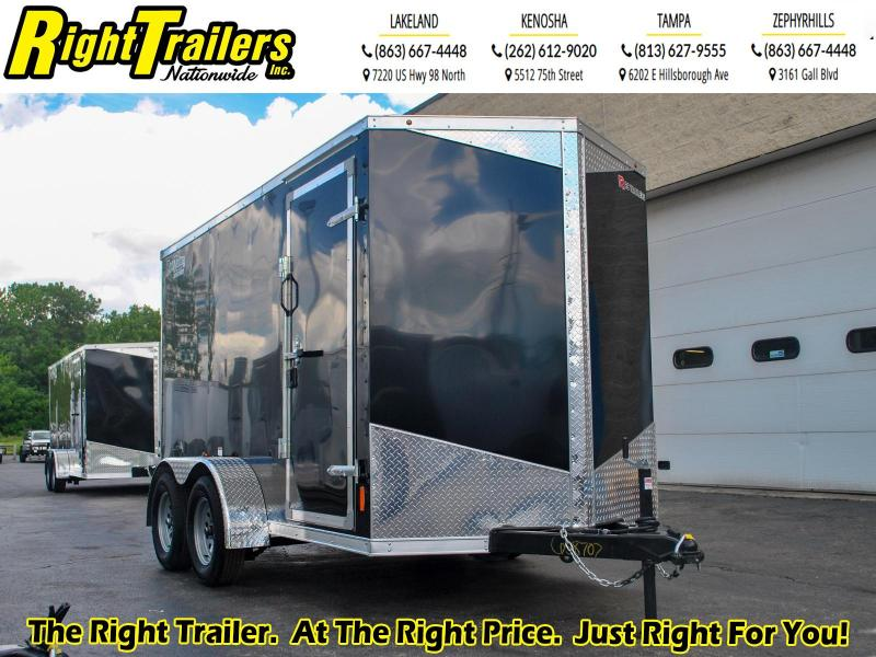 *58707* 6 x 12 RC Trailers I 7K Tandem Axle Enclosed Cargo Trailer