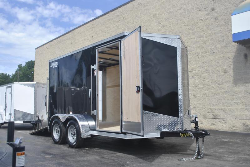 7X12 RC Trailers I Tandem Axle Enclosed Cargo Trailer