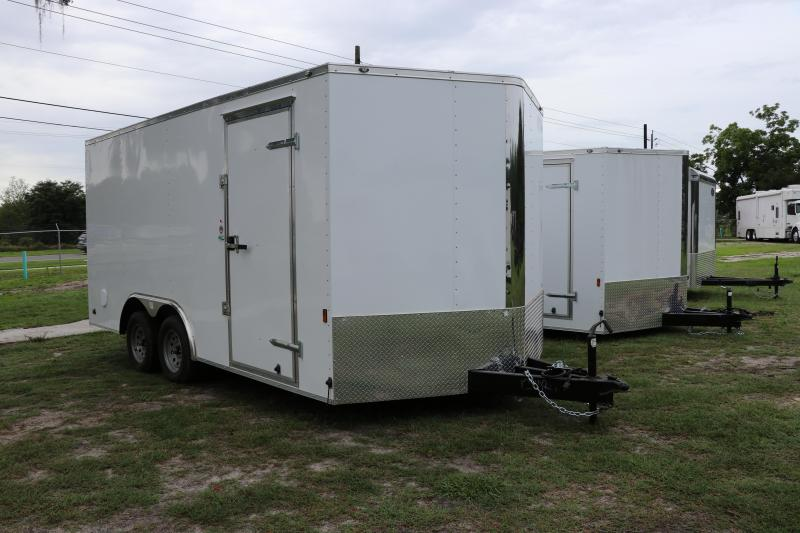 8.5X16 Continental Cargo I Enclosed Cargo Trailer