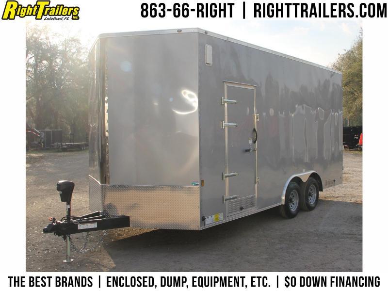 8.5x18 Continental Cargo | Enclosed Cargo Trailer