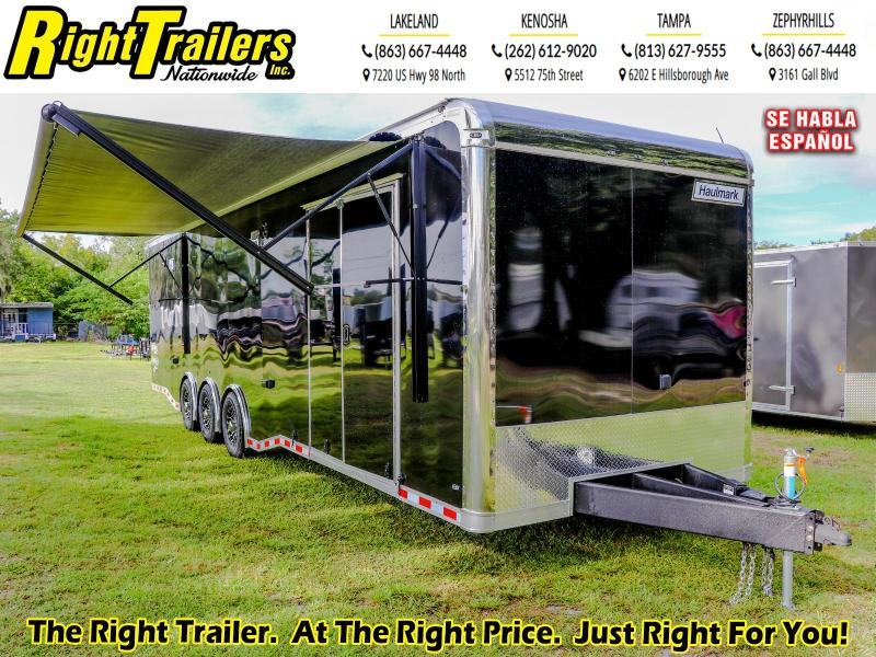 8.5X32 Haulmark Show Hauler I Car / Enclosed Cargo Racing Trailer