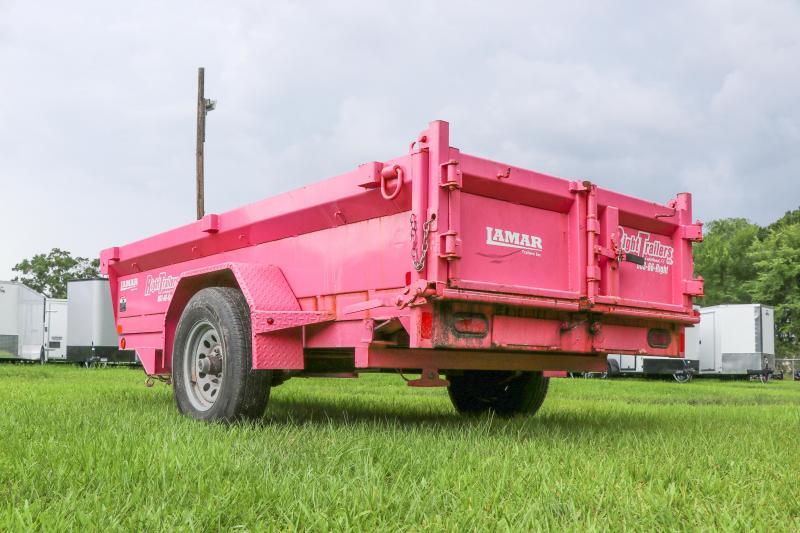 5x10 Lamar Mini Dump Trailer