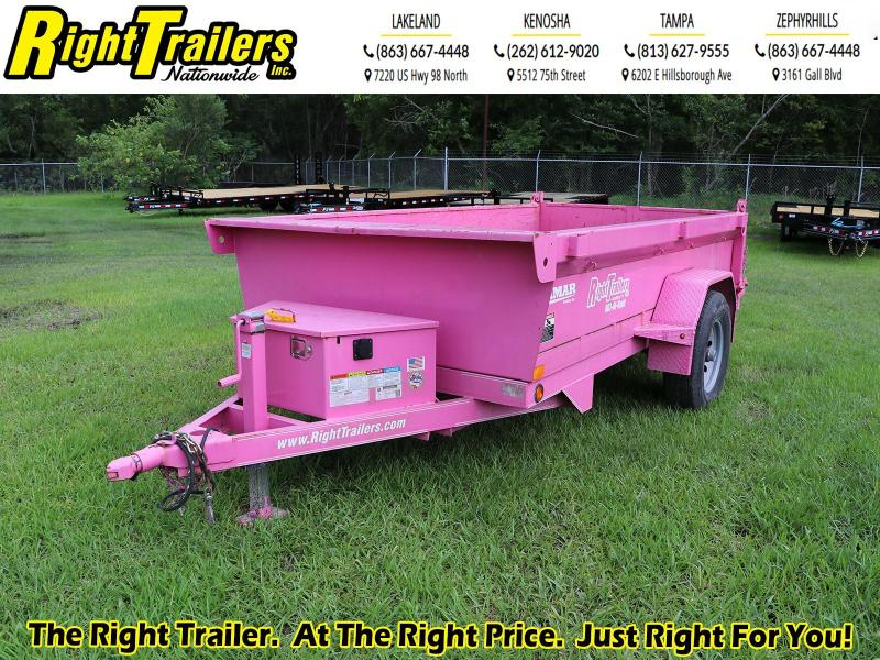 5x10 Lamar Mini Dump Trailer