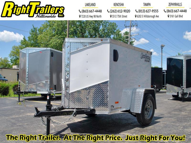 4X6 RC Trailers I Enclosed Cargo Trailer