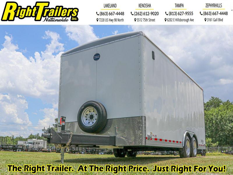 8.5X20 Wells Cargo Enclosed Cargo Trailer