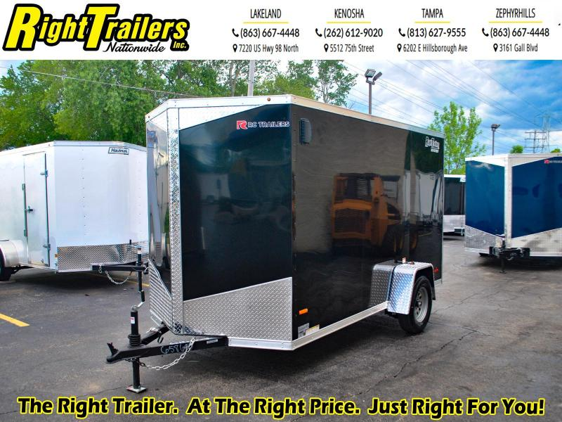 6 x 12 RC Trailers 3K Enclosed Cargo Trailer