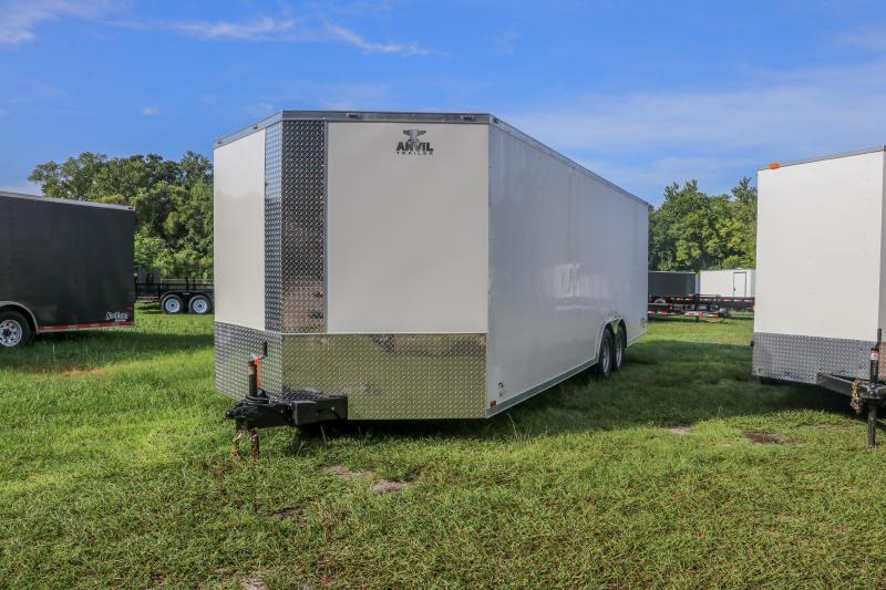 8.5X24 Red Hot I Enclosed Cargo Trailer