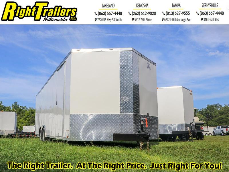 8.5X24 Anvil I Enclosed Cargo Trailer