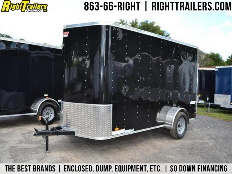 6x12 Pace American | Enclosed Trailer [Black]