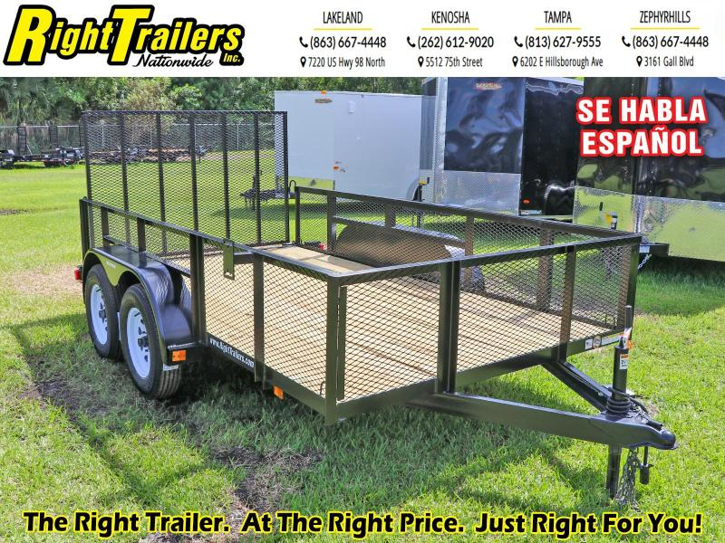 6X12 RED HOT I Triple Crown Utility Trailer