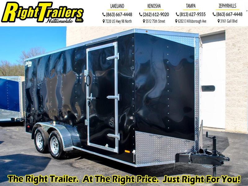 7X16 RC Trailers I Tandem Axle Enclosed Cargo Trailer